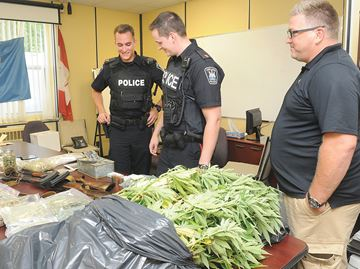 Port Hope drug operation