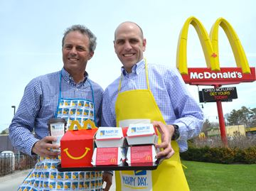 McHappy Day to raise money for Big Brothers in Collingwood, Wasaga