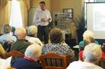 Author speaks to seniors in Penetanguishene