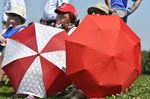 Red and white... and hot in Oakville for Day Two of the RBC Canadian Open