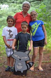 New Kinderwood trail in Ferguson Forest Centre