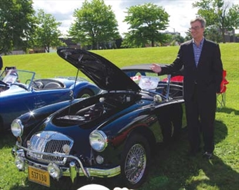 Ottawa gets invaded by British; City hosts annual North America MG spo– Image 1