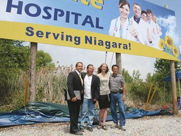 hospital land