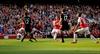 Sanchez scores 2 as Arsenal beats Man United 3-0-Image1