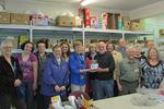 Wasaga Beach Garden Club donate Mark Cullen talk funds to food bank