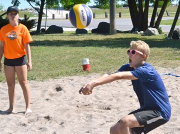 Volleyball on the rise in Collingwood