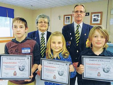 Victoria Harbour kids congratulated for public-speaking prowess