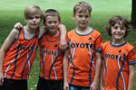 Meaford Coyotes medal in season opener