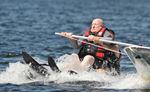 Kenn Grianger Water Skiis