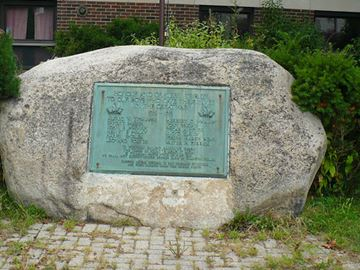 Historic fallen soldiers plaque stolen from Ridgeway Public