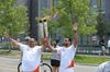 Pan Am Torch Relay in Scarborough