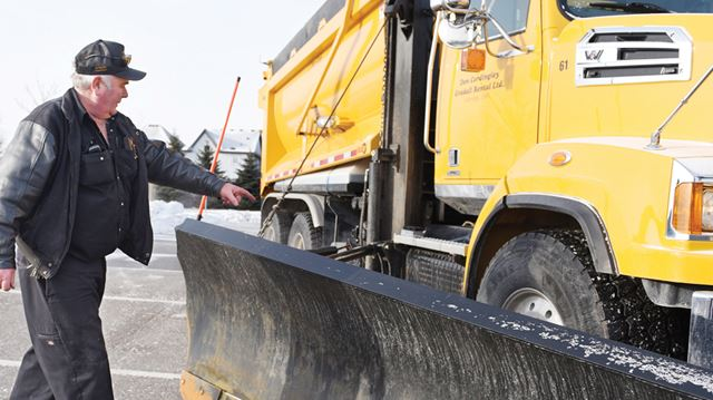 how to become a snow plow driver