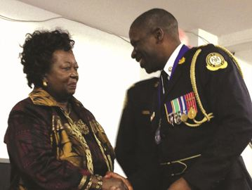 Bolton resident Kevin Junor received the Community Award of Excellence from the Toronto Police Service during a Black History Month ceremony.