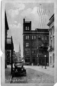 Flash from the Past: Postcard view shows Walper Hotel in Kitchener ...