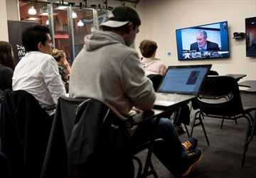 Universities connect in live online class-Image1