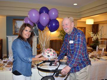 Bake sale raises $923 for Alzheimer's Society