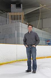 Tim Leprade, manager, Frontenac Community Arena