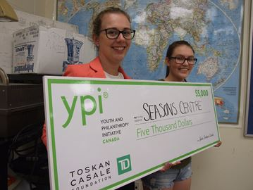 Orillia student scores $5G for Seasons Centre
