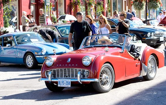 Port Perry British Car Show