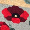 Sandi Hean's latest Remembrance Day quilt