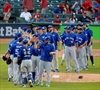 Dickey, Price combine in Blue Jays win-Image1