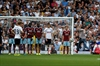 Supporter takes free kick in West Ham-Spurs game-Image1