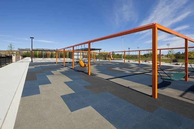 Recycled Tire Tiles At Fred Kee Park In Brampton Make An
