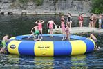 Water trampoline at St. Marys Quarry