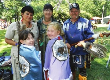 Frankford family enjoy joining in on local Pow Wow– Image 1