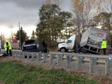 Fatal crash on Highway 9