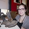 Jordan Museum cataloguing exhibit
