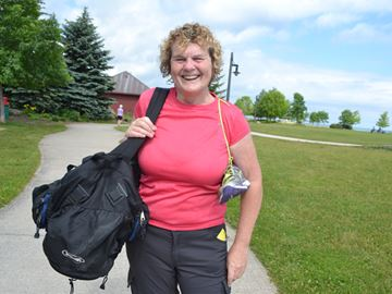 Collingwood woman to walk 540 km to raise money for Gilda's Club in Barrie