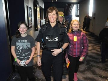 CAA and police honour kid volunteers in Barrie