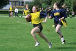 Midland Secondary School flag football team runs away with victory