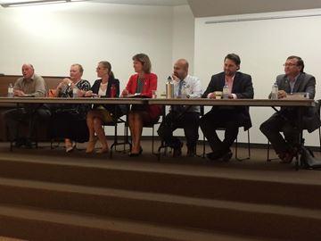 Burlington youth meet candidates
