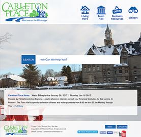 Options to improve Carleton Place website to be investigated