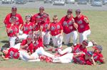 COBA rookieball champ Oakville A's head to provincials this weekend