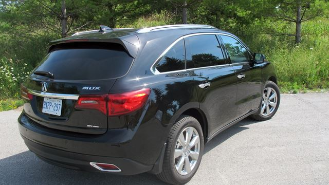 road test acura mdx 2016 right cuv at the right price. Black Bedroom Furniture Sets. Home Design Ideas