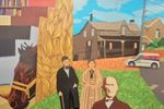 New public murals bring historical touch to Burlington
