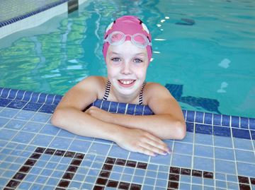 Swimming for a cure