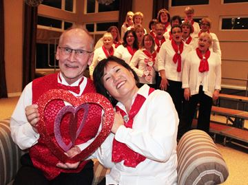 Sugartones offering Singing Valentines in New Tecumseth