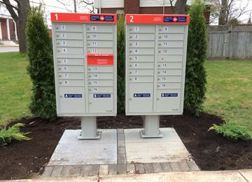 Canada Post super mailbox Pinehurst Drive