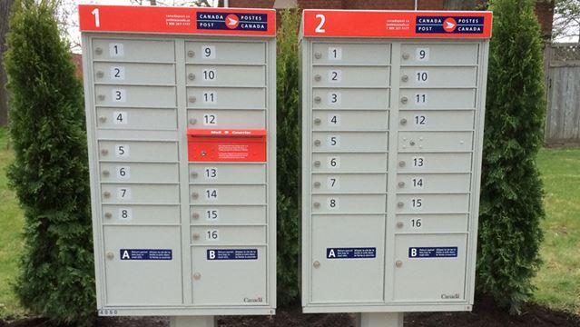 Canada Post super mailbox Pinehurst Drive