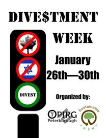 Divestment Week Poster