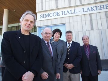 Lakehead recognizes county contribution
