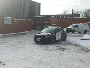 Gravenhurst school hold and secure