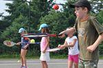 Greenbank tennis and basketball camp