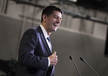 """""""This is happening. Tax reform under Republican control of Washington is happening,"""" House Speaker Paul Ryan of Wisconsin told rank-and-file members in a conference call."""
