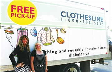 Canadian Diabetes Association opens new Clothesline donation centre in– Image 1
