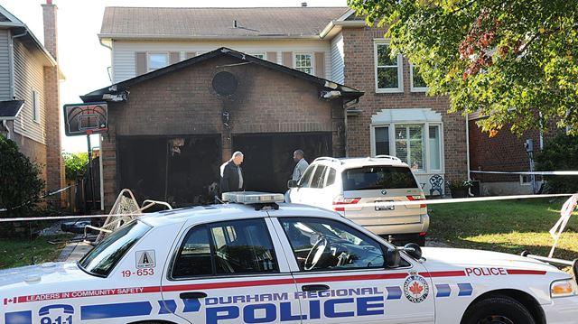 Pickering house fire